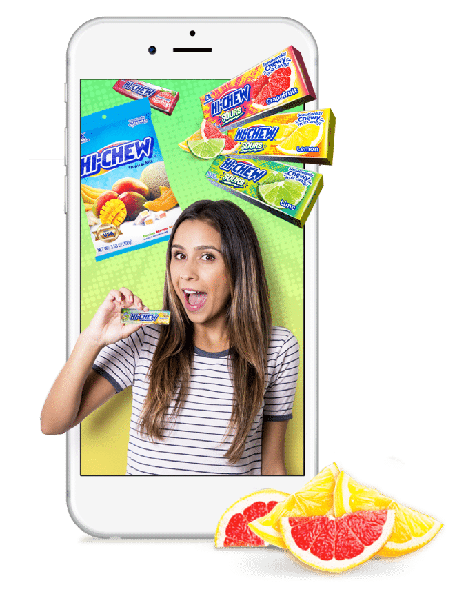 Follow Hi-Chew on Social Media